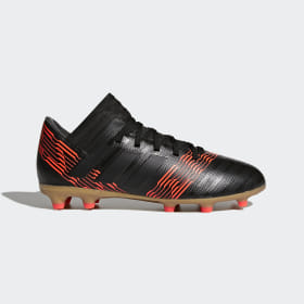 adidas - Nemeziz 17.3 Firm Ground Boots Core Black / Core Black / Solar Red CP9165