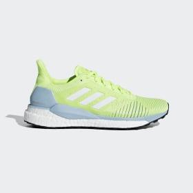adidas - Solar Glide ST Shoes Hi-Res Yellow / Cloud White / Ash Grey D97428