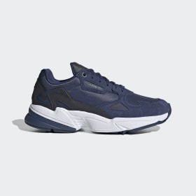 adidas - Falcon Shoes Core Black / Tech Indigo / Tech Indigo EH3519