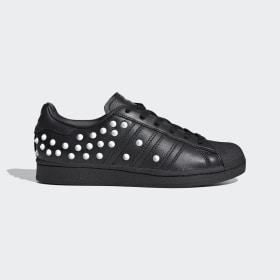 adidas - Obuv Superstar Core Black / Cloud White / Scarlet FV3343