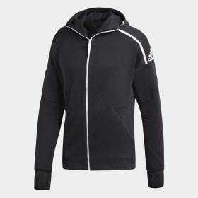 adidas - Chaqueta con capucha adidas Z.N.E. Fast Release Zne Htr / Black DM5543