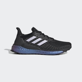 adidas - Chaussure Solarboost 19 Core Black / Purple Tint / Solar Red EG2360