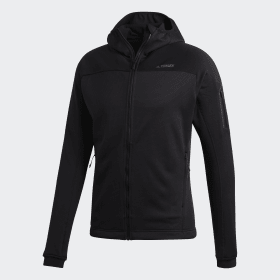 adidas - Stockhorn Hooded Jacket Black CY8702