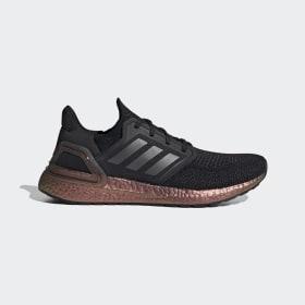 adidas - Ultraboost 20 Shoes Core Black / Grey Five / Signal Pink EG9749