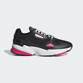 adidas - Zapatilla Falcon Core Black / Shock Pink / Cloud White EE5123