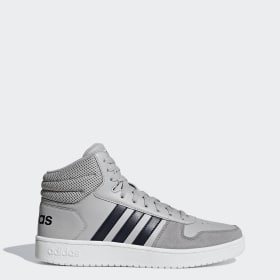 Chaussures Homme Baskets Adidas Hoops 2.0 Mid