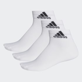adidas - Performance Thin Ankle Socks 3 Pairs White / White / Black AA2320