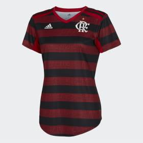 4e5a8eaf01f Camisa CR Flamengo 1 Feminina ...