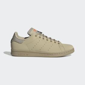 adidas - Chaussure Stan Smith Savanna / Savanna / Solar Red FV4649