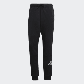 adidas - Must Haves French Terry Badge of Sport Joggers Black / White DQ1445