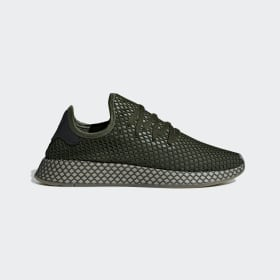 adidas - Deerupt Runner Shoes Base Green / Base Green / Orange B41771