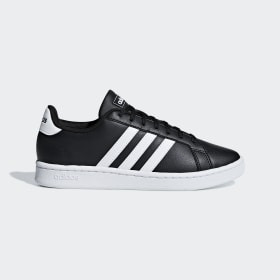 adidas - Grand Court Shoes Core Black / Cloud White / Core Black F36484