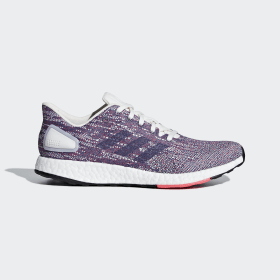 adidas - Pureboost DPR Shoes Purple / Raw Indigo / Shock Red F36447