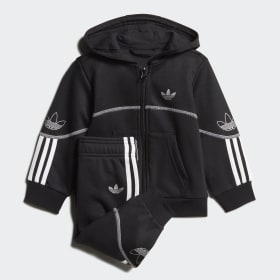 24mos BOYS Adidas black & neon green track jacket
