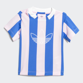 adidas - Stripes Jersey True Pink / Blue DV2839