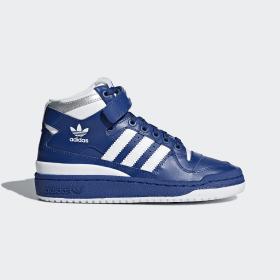 chaussures forum mid adidas bleu 34