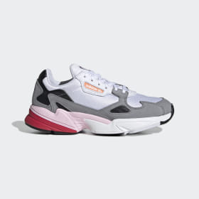 adidas - Falcon Shoes Beige / Cloud White / Grey Three CG6214