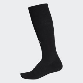 adidas - Alphaskin Lightweight Cushioning Over-the-Calf Compression Socks Black / Black CV7698