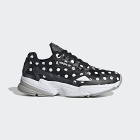 adidas - Falcon Shoes Core Black / Crystal White / Grey Two EH3522