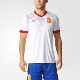c4a36372b7a1a Camiseta calentamiento primera equipación España ...