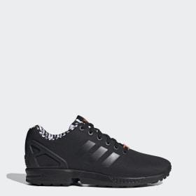 zx flux adidas dames zwart