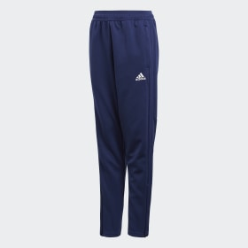 adidas - Condivo 18 Training Tracksuit Bottoms Dark Blue / White CV8245