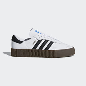 adidas - Zapatilla SAMBAROSE Cloud White / Core Black / Gum5 AQ1134