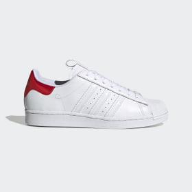 adidas - Superstar Shoes Cloud White / Cloud White / Core Black FW2829