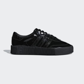 adidas - Zapatilla SAMBAROSE Core Black / Core Black / Active Purple CG6618