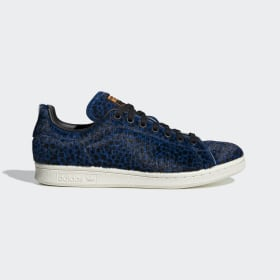 adidas - Zapatilla Stan Smith Blue / Core Black / Collegiate Purple F37018