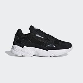 adidas - Falcon Shoes Core Black / Core Black / Cloud White B28129