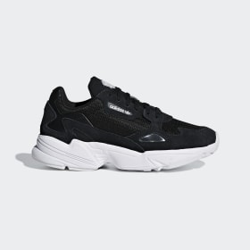 adidas - Falcon Shoes Core Black / Core Black / Cloud White B28129