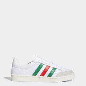 wit + groen Ademend Sneakers | adidas Nederland