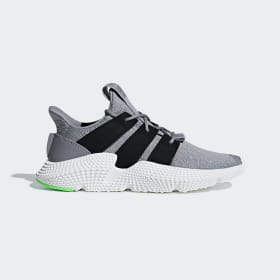 adidas - Prophere Shoes Grey Three / Core Black / Shock Lime B37464