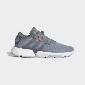 adidas - POD-S3.1 Shoes Grey Three / Grey Three / Solar Orange B37365
