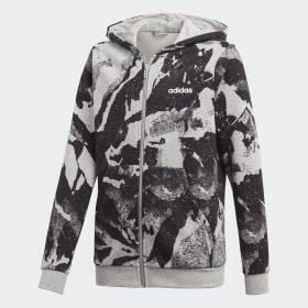 Chaqueta con capucha Essentials Allover Print
