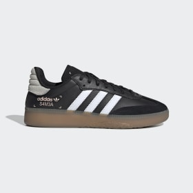 adidas - Zapatilla Samba RM Core Black / Cloud White / Clear Orange BD7539
