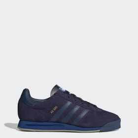paarse schoenen