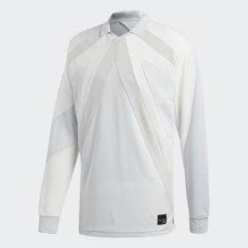adidas - Camiseta manga larga EQT 18 Beige / Aero Blue CW4924
