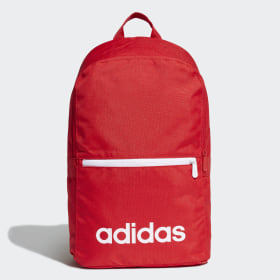 adidas - Linear Classic Daily Rucksack Scarlet / Scarlet / White FP8096