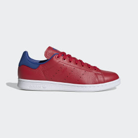 adidas - Chaussure Stan Smith Scarlet / Scarlet / Collegiate Royal FV3266
