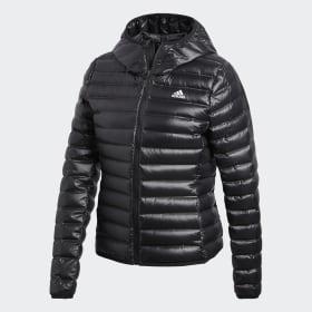 adidas - Bunda Varilite Hooded Down Black BQ1968
