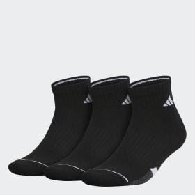Cushioned Quarter Socks 3 Pairs