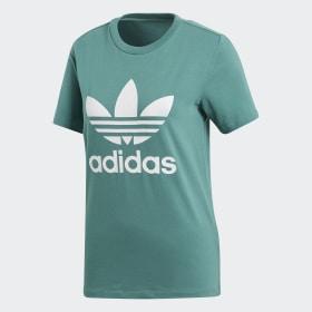 adidas - Camiseta Trefoil Future Hydro / White CV9892