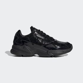 adidas - Zapatilla Falcon Core Black / Core Black / Core Black CG6248