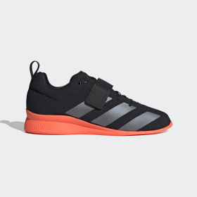 adidas - Adipower 2 Gewichtheberschuh Core Black / Night Metallic / Signal Coral EG1214