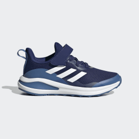 adidas - FortaRun Elastic Lace Top Strap Running Shoes Victory Blue / Cloud White / Focus Blue GY7599