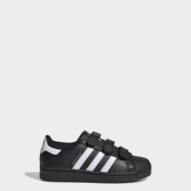 Chaussure Adidas Superstar East Rive Foudation Suède Noir Bonne Qualité