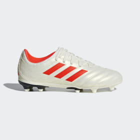adidas - Copa 19.3 Firm Ground Boots Beige / Solar Red / Core Black D98082
