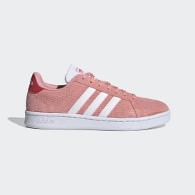adidas - Grand Court Shoes Glow Pink / Cloud White / Glory Red EG4226